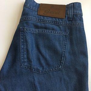Gucci Women's Wide Leg Jeans 70's Style